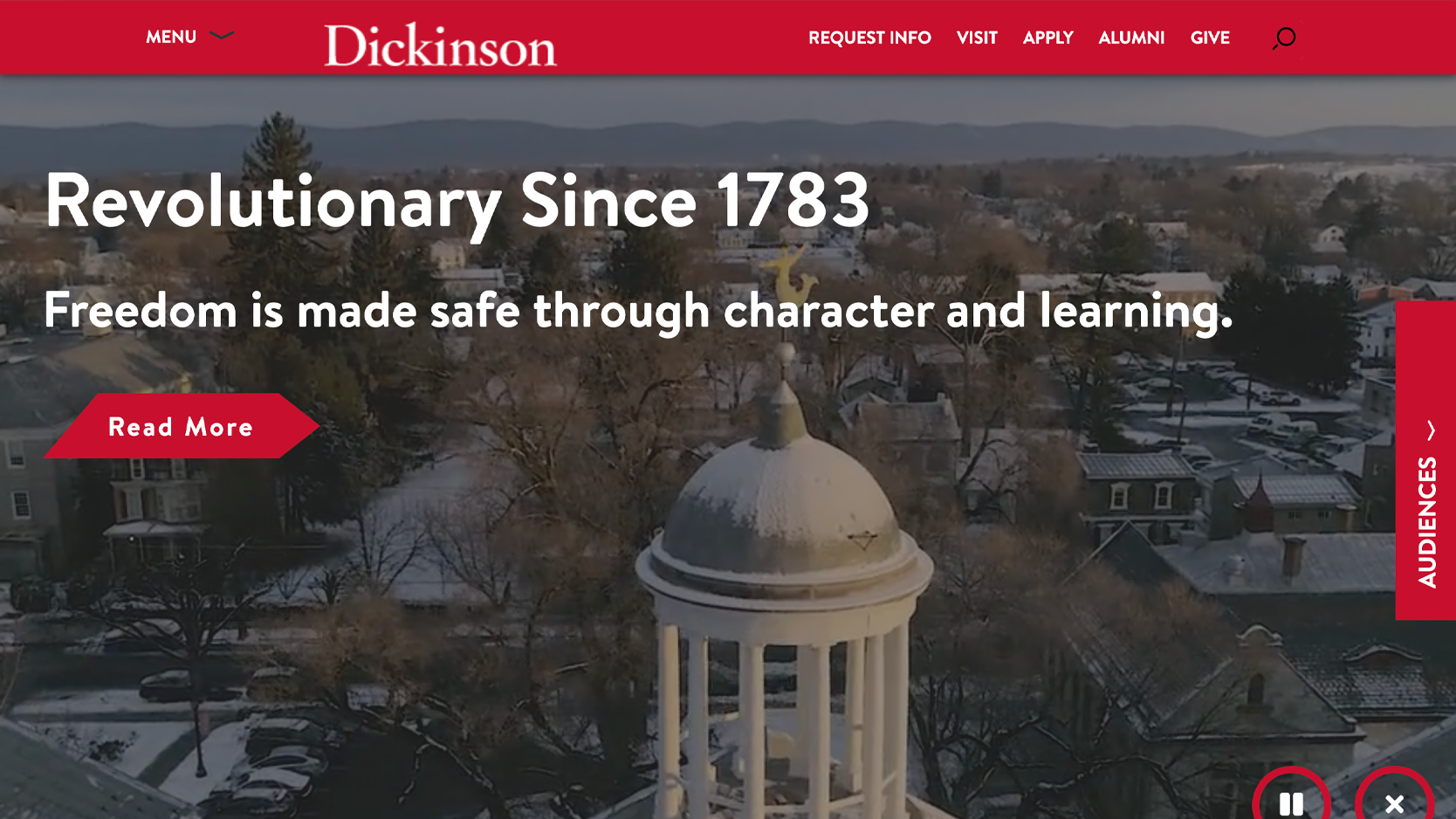 Dickinson College Homepage