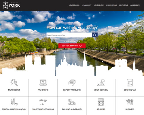York council website