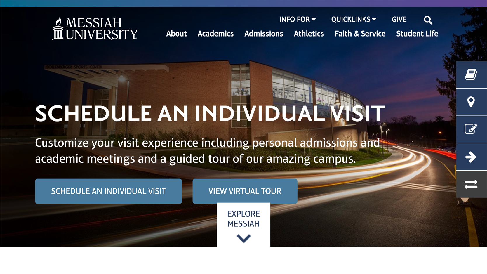 Messiah University Homepage