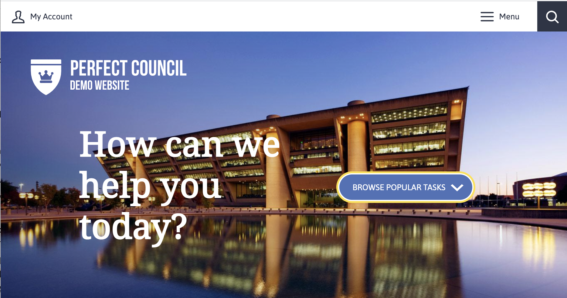 Perfect council website